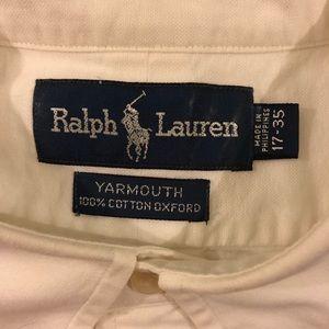 Polo by Ralph Lauren Shirts - Polo Ralph Lauren Off-White Oxford Shirt XL
